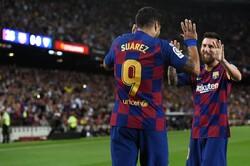 دیدار تیم های فوتبال بارسلونا و سویا