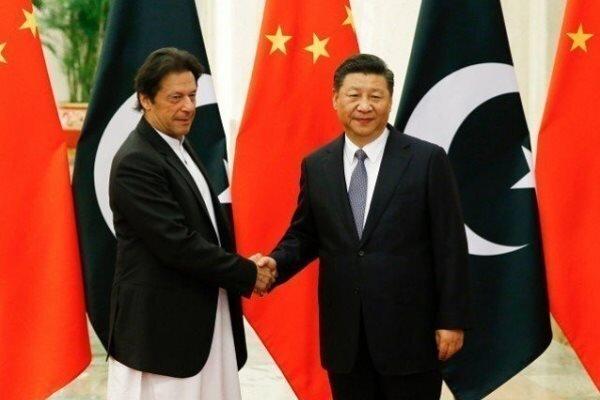 پاکستان کے وزير اعظم کی چین کے صدر سے ملاقات