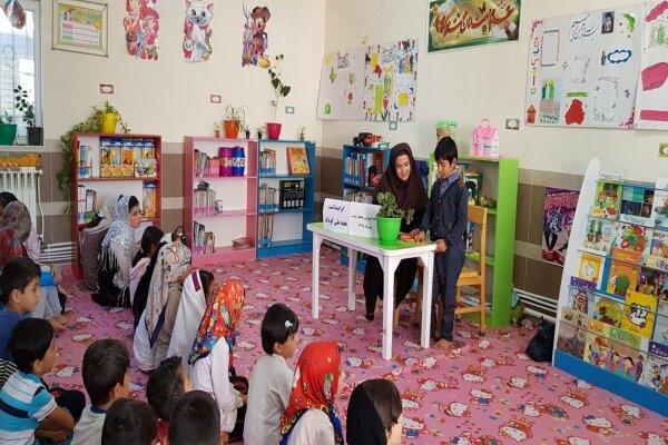 برگزاری جمع خوانی کتاب محیط زیست توسط کودکان اردبیلی