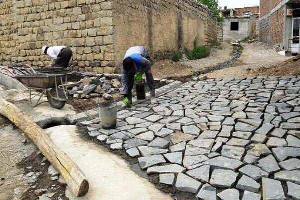 اجرای طرح هادی روستایی در روستای گزستان کوهرنگ
