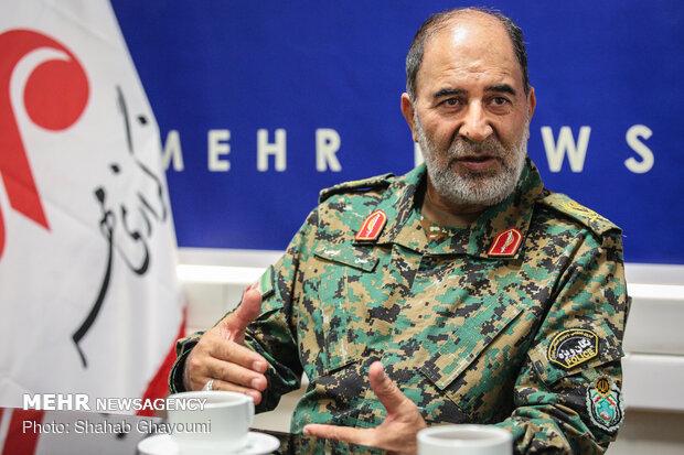 مسؤول عسكري ايراني يعلن إرسال قوات خاصة لاستتباب الأمن على الحدود الإيرانية العراقية