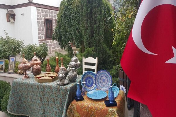 Iranian cultural-tourism exhibition kicks off in Ankara