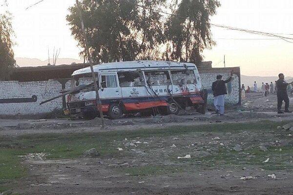 انفجار در مسیر اتوبوس نیروهای امنیتی در جلالآباد افغانستان