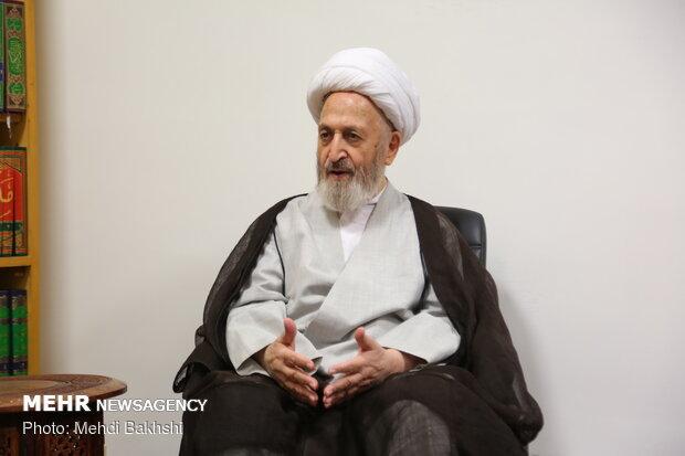 دیدار سردار حسین اشتری فرمانده نیروی انتظامی با مراجع عظام تقلید قم