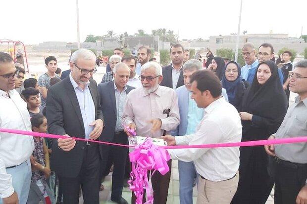 ۲ پروژه ورزشی در روستاهای شهرستان بوشهر افتتاح شد
