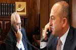 ایران اور ترک وزراء خارجہ کی شام کے شمال کے بارے میں ٹیلیفون پر گفتگو