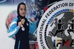 İranlı kadın sporcudan Türkiye'de büyük başarı