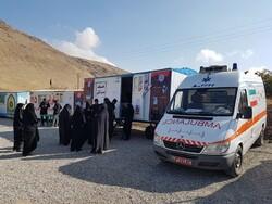 استقرار ۱۴ مرکز بهداشتی شبانهروزی در مسیر زائران اربعین