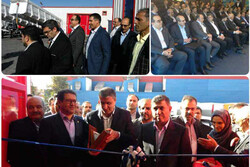 افتتاح بزرگترین خط تولید کانتینرهای حمل دریایی کشور در شرکت «ماموت»