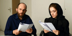 "Babak Hamidian and Mina Sadati act in a scene from ""The Role"" directed by Farnush Samadi."