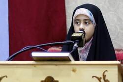 دختری هشت ساله نماینده ایران در مسابقات بین المللی قرآن امارات