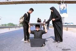 اجرای طرح آموزش موکب داران توسط هلال احمر دزفول در مرز چذابه