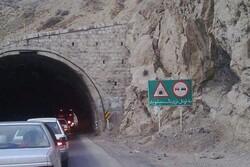 محدودیت ترافیکی تونل حیران در محور اردبیل - آستارا تمدید شد