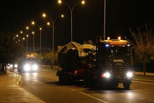 ورود یگانهای زرهی ارتش ترکیه به خاک سوریه