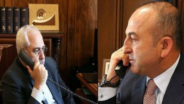 FM Zarif urges Turkey to respect Syria's territorial integrity