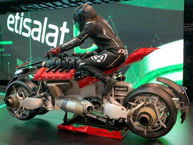 موتورسیکلت پرنده در جیتکس رونمایی شد