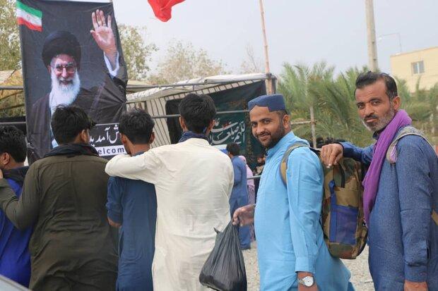 ورود مسافران پاکستانی از پایانه مرزی میرجاوه ۸۱ درصد افزایش یافت
