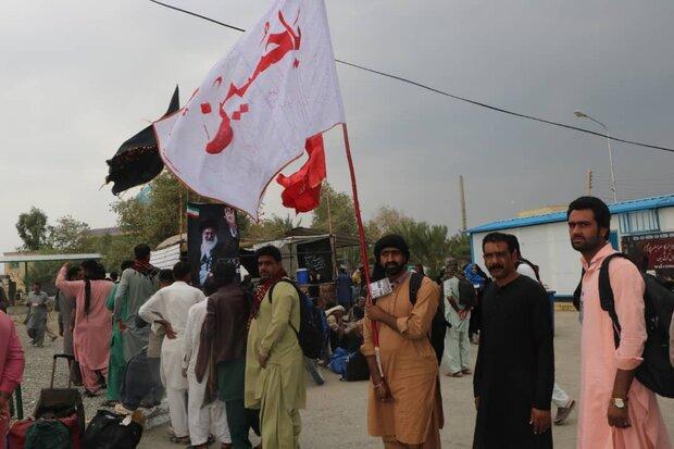 ۱۱۰ هزار زائر پاکستانی وارد سیستان و بلوچستان شدند