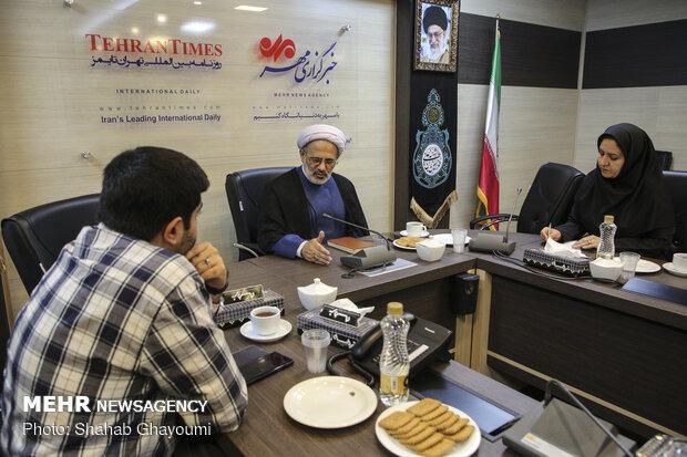 گفتگو با رئیس کمیته فرهنگی و آموزش ستاد مرکزی اربعین