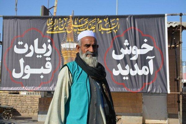 اولین گروه از زائران اربعین حسینی از افغانستان وارد ایران شدند