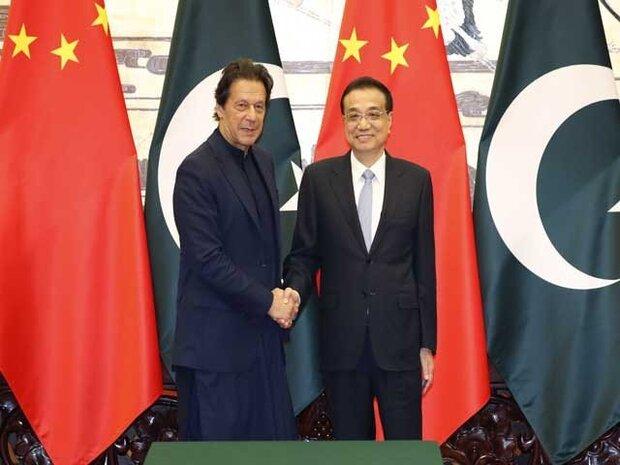 پاکستانی وزیر اعظم کی چینی ہم منصب سے ملاقات
