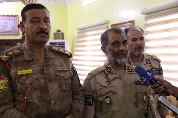 اجرای رزمایش مشترک دریایی ایران و عراق در منطقه اروند