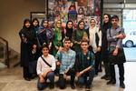 بازدید دانشآموزان نخبه وفعال در کانون پرورش فکری از خبرگزاری مهر