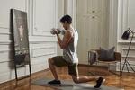 آینه تعاملی برای تمرینات ورزشی و ارتباط با مربی