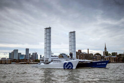 قایقی که سوختش از آب دریا تامین می شود