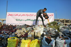 Illicit drugs destroyed in Qom