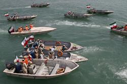 بندر عباس میں پولیس کی بحری مشقیں
