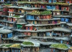 """Colorful Village"" by Babak Mehrafshar"