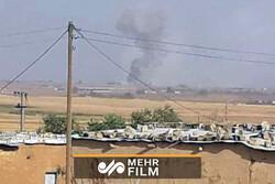 شام پر ترکی کے فوجی حملوں کی تصویریں