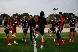 تمرین تیم فوتبال تراکتور در غیاب ملی پوشان برگزار شد