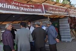 جامعه پزشکی زنجان در ۸ موکب خدمات درمانی ارائه می دهد