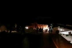 منحرف شدن یک دستگاه اتوبوس با ۴۵ زائر در مسیر ایلام-بدره
