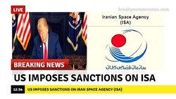 US sanction on Iranian Space Agency (ISA)