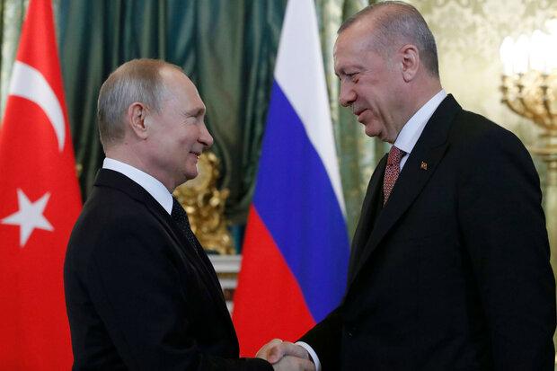 انتشار جزئیات گفتگوی پوتین و اردوغان