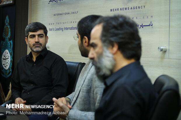 بازدید دانش آموزان نخبه از خبرگزاری مهر