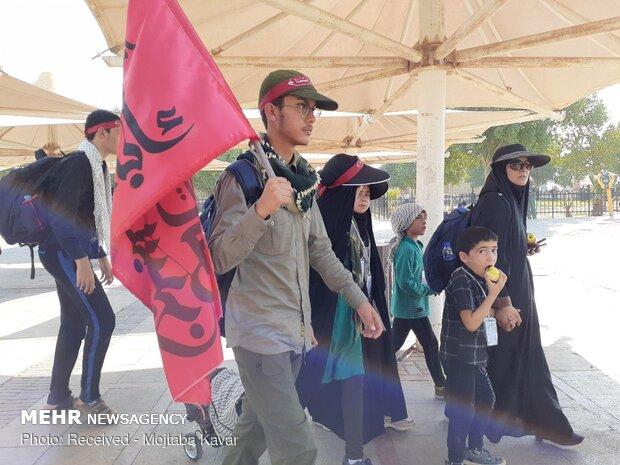 خروج ۲۱۸ هزار زائر از پایانه مرزی مهران طی ۲۴ ساعت گذشته