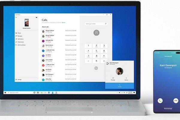 ویندوز ۱۰ به تماس گوشیهای اندرویدی پاسخ می دهد!