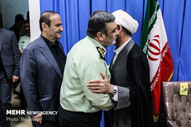 سفر سردار حسین اشتری فرمانده نیروی انتظامی به ایلام و بازدید از مرز مهران