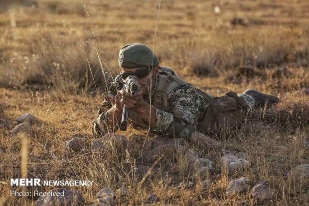 رزمایش غیر مترقبه نیروی زمینی ارتش در منطقه شمال غرب کشور