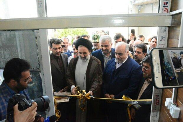 افتتاح قرارگاه رسانهای اربعین در مرز خسروی