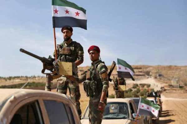 گروههای مسلح سوری وابسته به آنکارا از مرز رد شدند