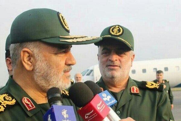 VIDEO: IRGC chief visits Iran-Iraq Shalamcheh border