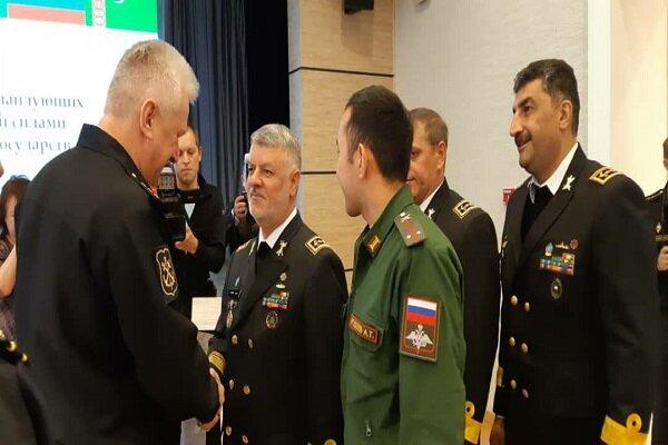 Caspian Sea naval commanders discuss cooperation