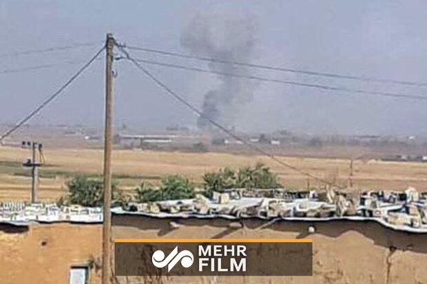 تصاویری از حملات ترکیه به سوریه