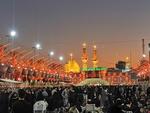 لطمية حسينية بنكهة بوشهرية في ساحة بين الحرمين / فيديو
