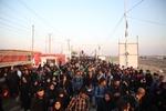 تجمع زائران حسینی در شلمچه پایان یافت